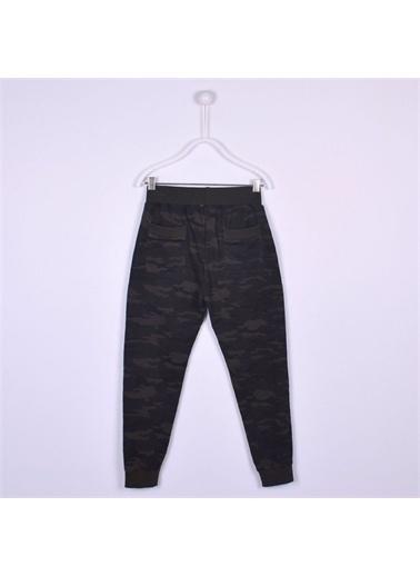 Silversun Kids Baskılı Bel Ve Paçalar Lastikli Alt Erkek Çocuk Pantolon Jp 312630 Haki